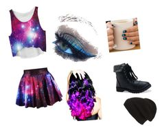 """Out of this World"" by haileythomas-1 on Polyvore featuring Leg Avenue, Aéropostale and Phase 3"