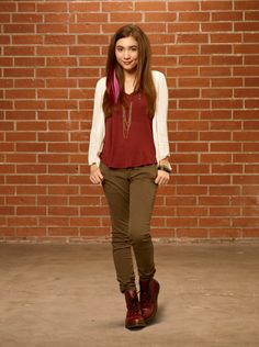 Rowan Blanchard as Cleo in Invisible Sister