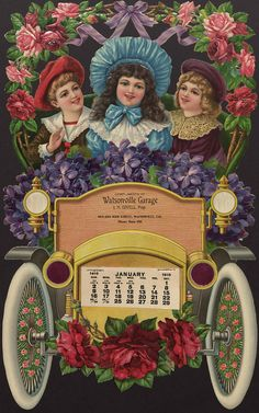 January 1910 Calendar Page