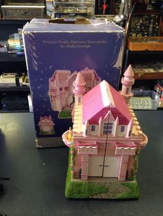 Disney Princess Aurora Cinderella Belle Snow White Castle Staircase Snowglobe   eBay