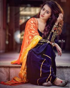 Beautiful Suit, Beautiful Girl Photo, Beautiful Girl Indian, Most Beautiful Indian Actress, Stylish Girls Photos, Stylish Girl Pic, Girl Photo Poses, Girl Poses, Punjabi Dress