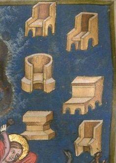 Christherre-Chronik, die zweite, dem Landgrafen Heinrich von Thüringen gewidmete, pseudo-rudolfische Rezension der Weltchronik, - unvollständig, nur bis Esau reichend 14./15. Jh. Cgm 4  Folio 7v