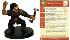 Gnome Trickster #17 Blood War D&D Miniatures DDM
