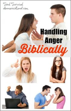 Handling Anger Biblically + LINKUP - While it may take different forms, most of us have struggled with anger. Some of us turn our anger inward by clamming up or engaging in self-destructive behaviors. Some of us explode at the least provocation. Anger can be extremely destructive. It can cost us our jobs, our marriages, our families, our testimonies, even our health. Much has been written about anger and how to control it, but the Bible doesn't call us to control sinful anger. It...