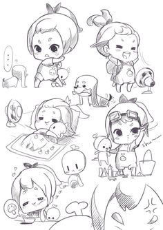 chibi sketch 1 by Fuka-Enrique on DeviantArt