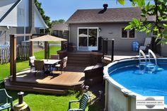 Patio piscine hors terre recherche google amenagement exterieur pinterest outdoor - Amenagement piscine hors terre ...