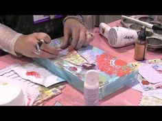 Scrap Time - Ep. 733 - Christy Tomlinson shows us her process for making her Art