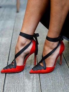 Women's Sexy Peep Toe Platform High Heel Pumps Stilettos Sandals Slip on Super High Heel Party Dress Shoes Hot Shoes, Crazy Shoes, Me Too Shoes, Zapatos Shoes, Shoes Heels, Heeled Sandals, Red Heels, Strap Heels, Red Pumps