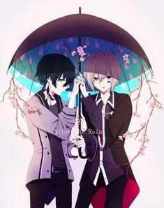 Read Part 41 - After the Rain from the story 歌い手 ⋆ U T A I T E ⋆ e n d by Umi_Murasaki (𝚎𝚒𝚍𝚘𝚖𝚞. Hot Anime Boy, All Anime, Anime Manga, Anime Art, Anime Boys, Vocaloid, Kawaii Anime, Lgbt Anime, Anime Friendship