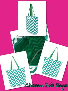 Chevron Tote! I want one!