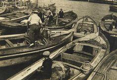 Barcos pesqueros, Junio 1946, Mar del Plata  - Haynes Publishing Company Archive //Programa Archivos en Peligro - Biblioteca Británica // Endangered Archives Program -British Library