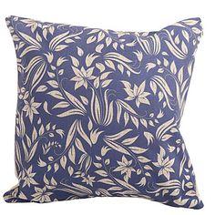 "Createforlife ® 18 ""Vintage Blå blommor Dekorativ Cotton Linen Square Örngott Kuddfodral  – SEK Kr. 122"