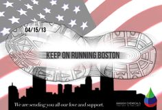 We are sending you all our love and support Boston.