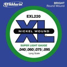 Seria strun exl to bestseller, na których wielu gitarzystów jest przekonana