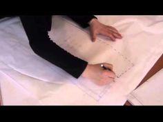 Temel Etek Çizimi /Drawing of basic skirt - YouTube