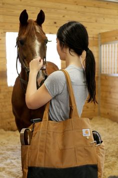 Carhartt Legacy Women's East West Tote / Crafted in Carhartt