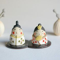 Doll Display, Needle Felting, Clay, Ceramics, Dolls, Handmade, Crafts, Creema, Interior
