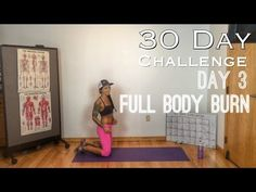 Day 3: Full Body Burn Betty Rocker 30-Day Bodyweight Challenge