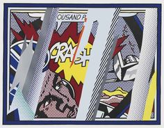 Explore our collection of hand-signed Roy Lichtenstein Pop Art Screen Prints and Paintings for sale. Popular Lichtenstein prints include Crying Girl Reflections on Crash and Wallpaper Price available upon request. Roy Lichtenstein Pop Art, Art Pop, Collage, Art Design, Urban Art, Decoration, Buy Art, Screen Printing, Liverpool