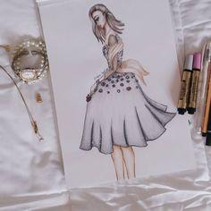Fashion Drawing  @kimberlycamfield