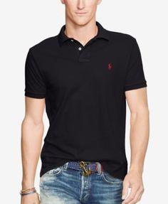 Polo Ralph Lauren Men's Slim-Fit Cotton Mesh Polo Shirt - White XXL