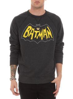 DC Comics Classic Batman Crewneck Sweatshirt.