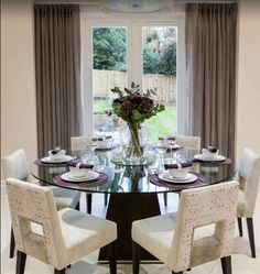 17 classy round dining table design ideas | dining table design