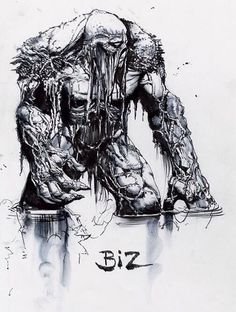 Swamp Thing by Simon Bisley