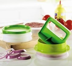 Tupperware | Hamburger Press and Keepers Set. www.my.tupperware.com/serenanorthern