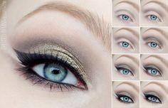 utopia Step by Step - bellashoot.com #Dressedinmint #eyes #tutorial #makeup