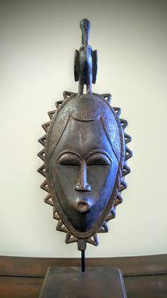 Yaure Mask ivory coast.
