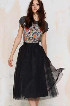 I Love this Tulle Skirt!
