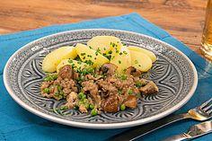 Hack-Pilz-Pfanne, ein gutes Rezept aus der Kategorie Rind. Bewertungen: 45. Durchschnitt: Ø 4,3.