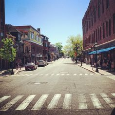 Downtown Portsmouth, NH by University of New Hampshire #MyUNH
