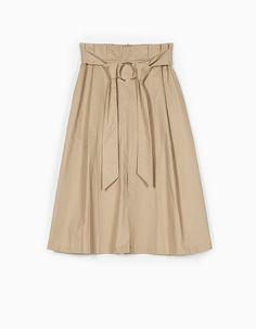 At Stradivarius you'll find 1 Paperbag midi skirt for just 999 Ukraine . Visit now to discover this and more Clothing.