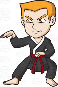 Martial Arts cartoon Boy & Karate clipart - Clipartman.com ...