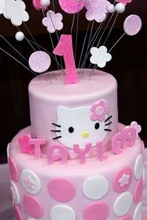 Hello Kitty Cake on Sweet As Sugar