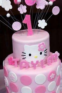 Hello Kitty Cake on Sweet As Sugar