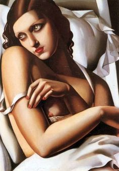 Tamara de Lempicka, the queen of Art Deco