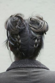 Cor e penteados lindos