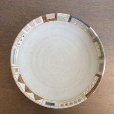 幾何学文様パスタ皿(No.319)の画像3枚目