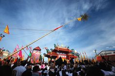 A #Colorful Event - Phuket #Vegetarian #Festival, Phuket, #Thailand  #Visitors who want to #experience the most of this #event should visit the major #shrines including the five oldest shrines in #Phuket; Put Jaw, Jui Tui, Bang Niew, Cherng Talay, and Kathu Shrine.