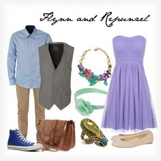 <3 Flynn And Repunzel, created by elliekayba on Polyvore | CLICK THIS PIN if you want to learn how you can EARN MONEY while surfing on Pinterest