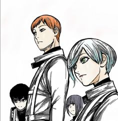 Tokyo ghoul  Squad:0