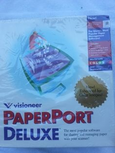 Visioneer Paperport Deluxe for Windows 95 & Windows NtT Windows Xp, Microsoft Windows, Windows Update, Software, Windows Defender, Linux, Amp, Shopping, Linux Kernel