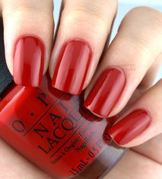 OPI Holiday 2016 Breakfast at Tiffany's Collection; Got the Mean Reds