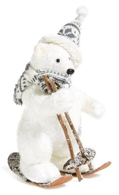 adorable bear decoration  http://rstyle.me/n/tqj8ipdpe