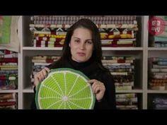 Bruna Szpisjak - Sousplat Limão (Técnica Fio Conduzido) - YouTube