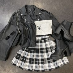 Egirl Fashion, Teen Fashion Outfits, Retro Outfits, Cute Casual Outfits, Stylish Outfits, Girl Outfits, Trendy Fashion, Aesthetic Grunge Outfit, Aesthetic Clothes