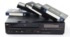 Funai Electric will end production of VHS video cassette recorders (VCRs) at the end of July. Vcr Player, Composite Video, Cassette Recorder, Vintage School, Vhs Tapes, Video Home, Videos, Board Games, How To Memorize Things